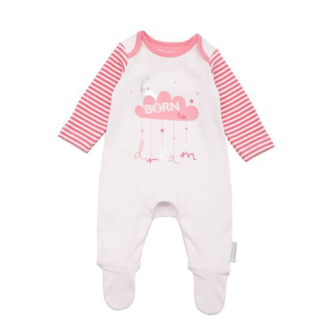 Mothercare Sleepsuit 4 mothercare baby newborn s born to care sleepsuit ebay