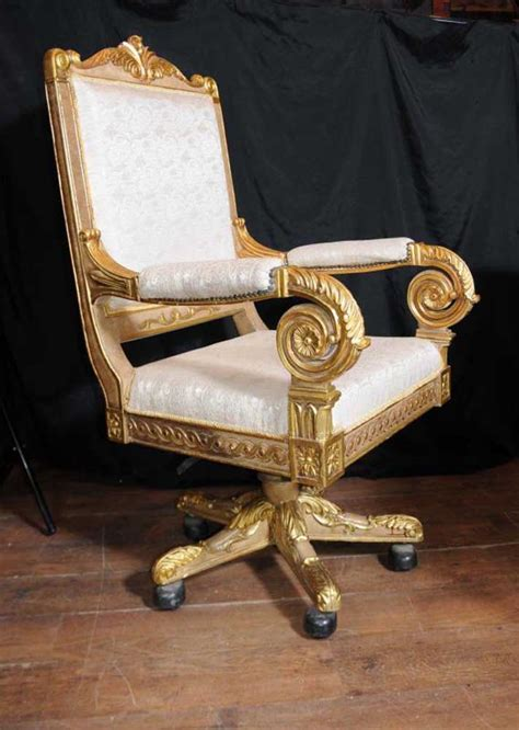 large throne chair large gilt swivel office arm chair throne fauteil