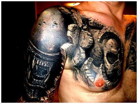 biomechanical tattoo nz chest biomechanical new tattoo designs tattoo love