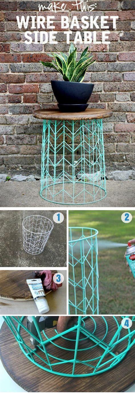 Simple Ideas For Hanging Wire Basket Best 25 Wire Basket Decor Ideas On Pinterest