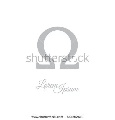 Icon Grey By Omega omega symbol stock images royalty free images vectors