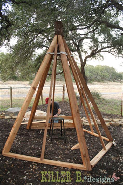 how to build a tent diy cedar play teepee j n roofing maintenance llc