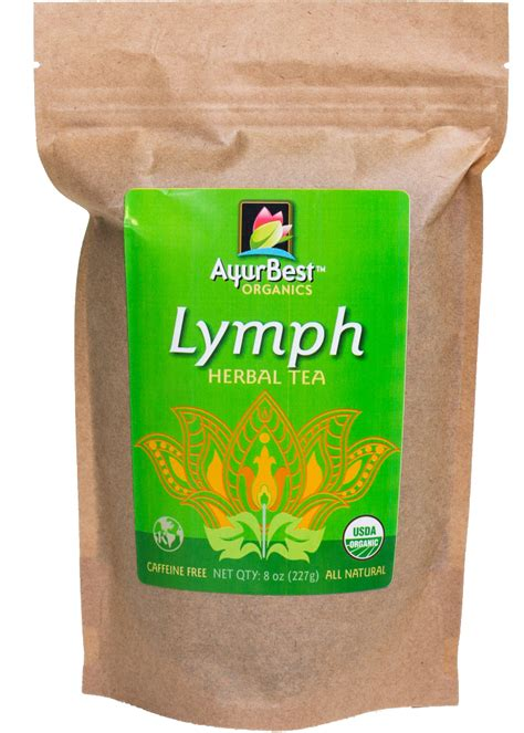 Lymph Detox Herbs by Ayurbest Lymph Herbal Tea