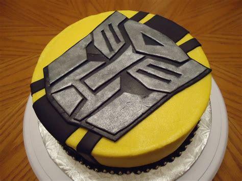 transformers bumblebee cake birthday ideas