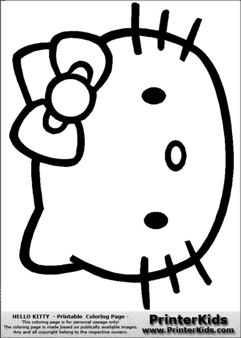 hello kitty logo coloring pages hello kitty logo cliparts co