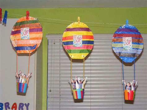 balloon craft for air balloon craft happy days preschool