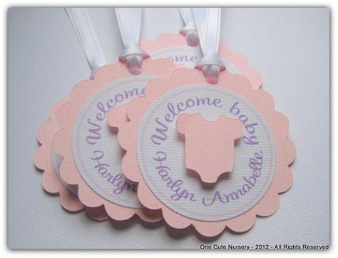 Baby Shower Favor Tags by One Nursery Baby Shower Favor Tags Wording Ideas