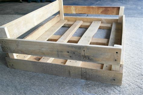 pallet dog bed plans diy pallet pipe dog bed tutorial