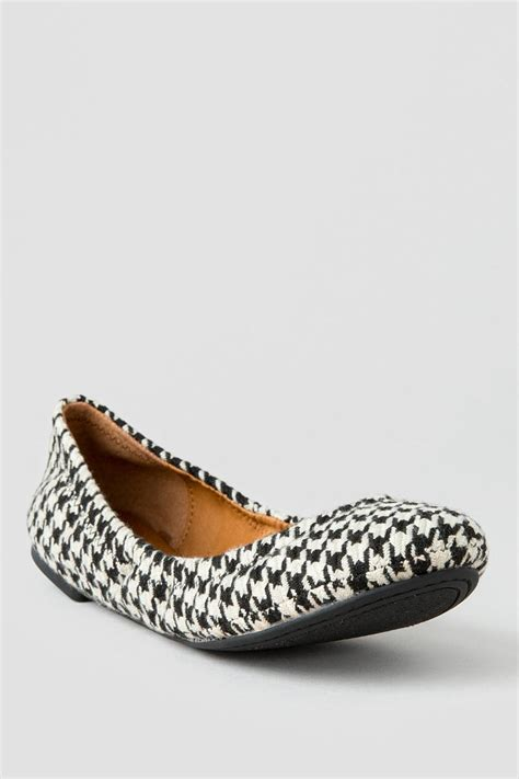 lucky brand flat shoes lucky brand shoes emmie houndstooth ballet flat s