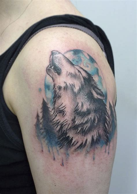 howling wolf tattoo howling wolf by matt curtis tribal