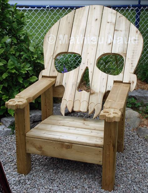 cool outdoor patio chairs 10 cool and chairs inspired by skull and skeleton