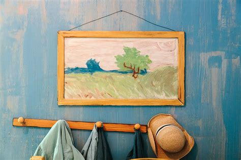 gogh bedroom sleep in a gogh painting re creation for rent on airbnb