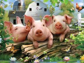 pigs 550 puzzle white mountain puzzles