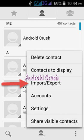 backup contacts android how to backup android contacts to gmail drive pc