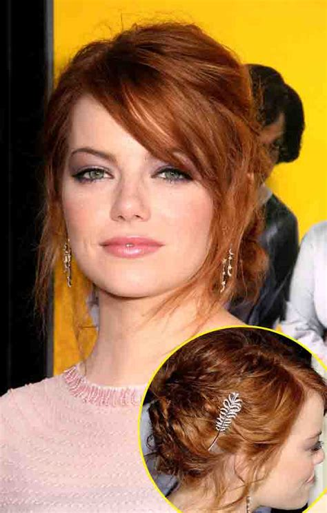 emma stone hairstyle emma stone s 7 best hair looks styleicons