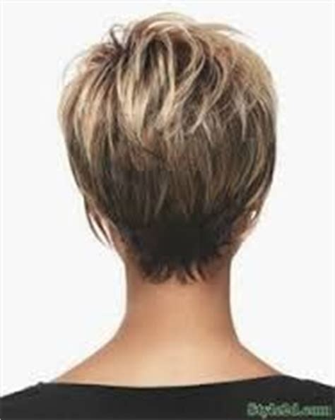 razor haircuts for women over 50 back view back view of short haircut for over 50 short hairstyle 2013