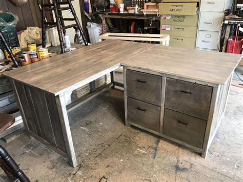 rustic l shaped computer desk rustic l shaped desk furniture plans diy computer
