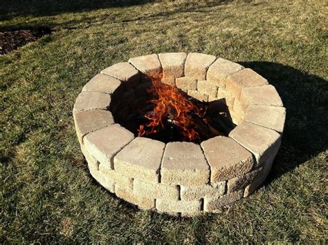 build pit around tree stump diyers and s mores diy pits you can build