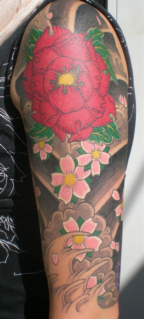 tattoo flower asian japanese tattoos designs ideas and meaning tattoos for you