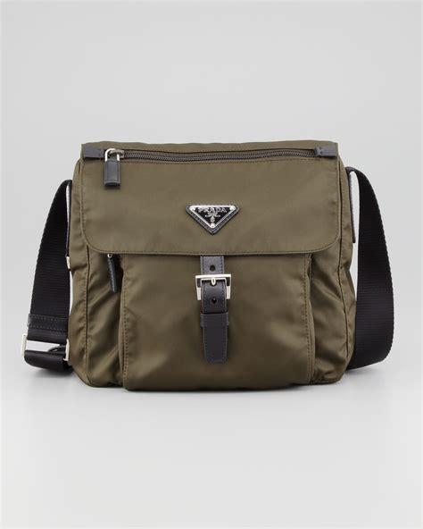 Prada And Marmot Fur Messenger Bag by Prada Fox Fur Messenger Bag Prada White Handbag
