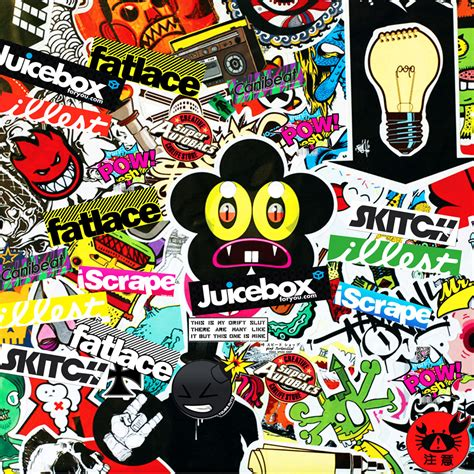 Wallpaper Stiker 26 sticker bomb wallpaper wallpapersafari