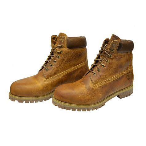 mens boots size 5 timberland timberland 6 inch anniversary orange osf 5