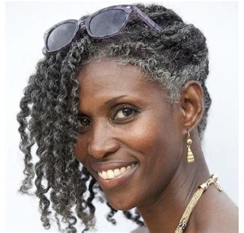 good pern for salt and pepper nappy hair cute twist out http www blackhairinformation com