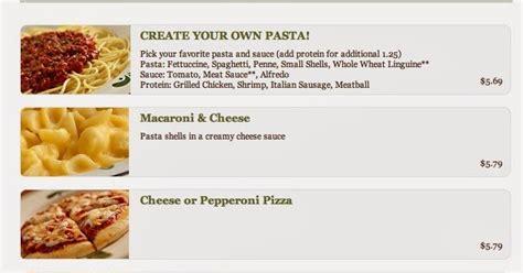 Olive Garden Na Id by The Menu Olive Garden Menus Prices