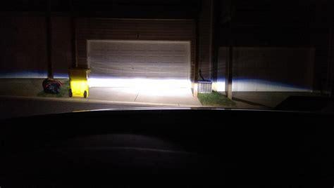 hid lights vs led headlights led vs hid headls lexus forums
