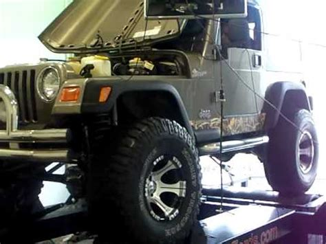 Jeep Stroker Dyno 2003 Jeep Wrangler Chassis Dyno 4 7 Stroker Project Camo