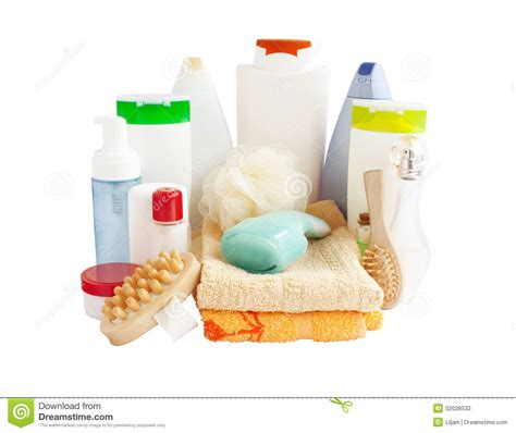 bathroom suppliers bathroom and body care products stock photos image 32028533