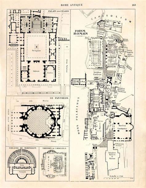 roman floor plan ancient rome map and floor plans roman forum palatine