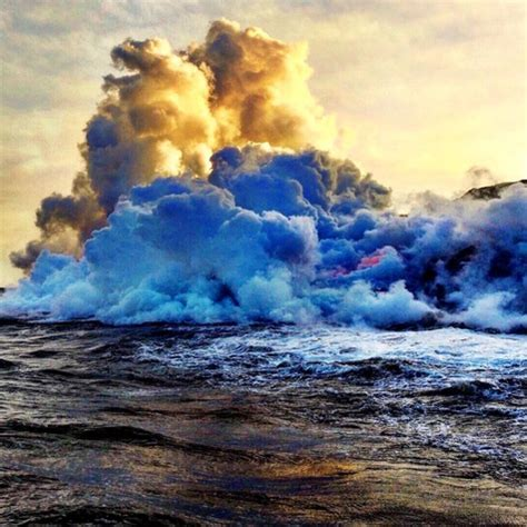 c big island lava boat tour hawaii s ultimate thrill ride view of erupting volcano