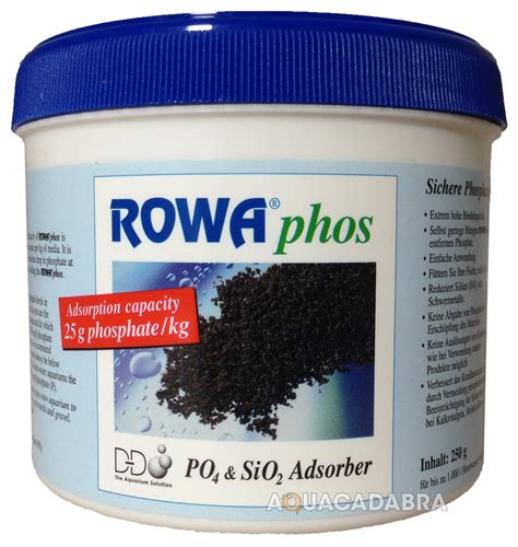 Rowaphos Phosphate Remover 1000g d d rowa phos media rowaphos phosphate remover 100ml 250ml 500ml 1000ml 5000ml ebay