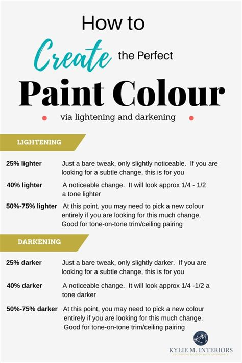 where to find paint how to lighten and darken paint colours to find the best