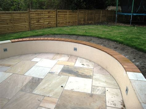 Curved Garden Wall Curved Garden Wall Seat