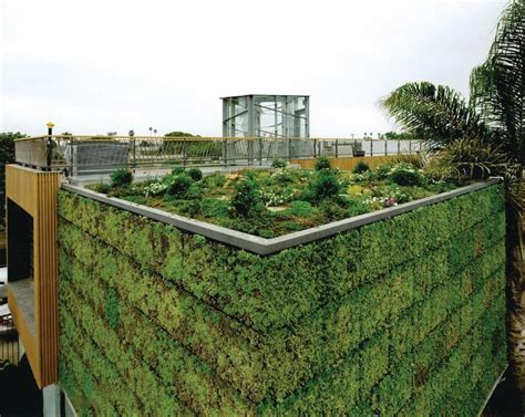 living roofs and walls modular planted panels from elt ecobuilding pulse