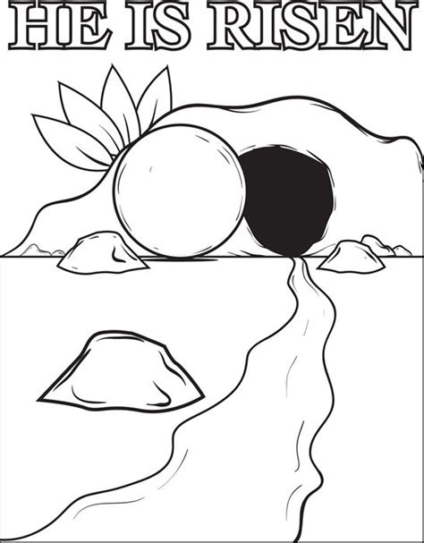 free coloring page of jesus resurrection the resurrection of jesus christ coloring page coloring