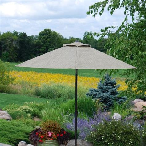 backyard creations umbrella backyard creations laguna umbrella at menards 174