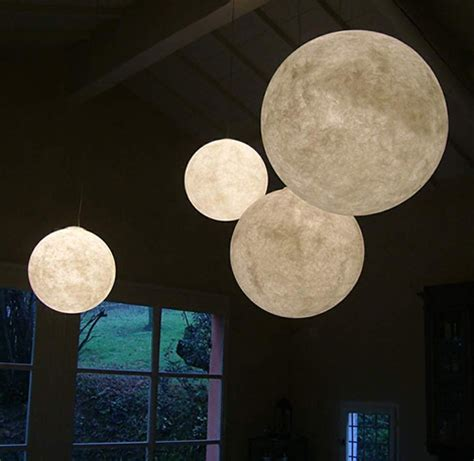 globe pendant light giant pendant light moon by design