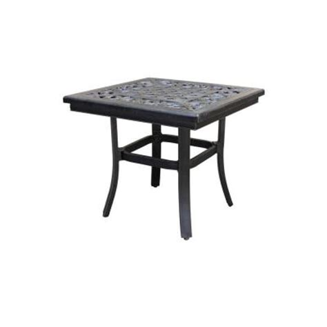 Home Depot Patio Table Thomasville Messina 21 In Patio Side Table Fg Mn21stbl The Home Depot