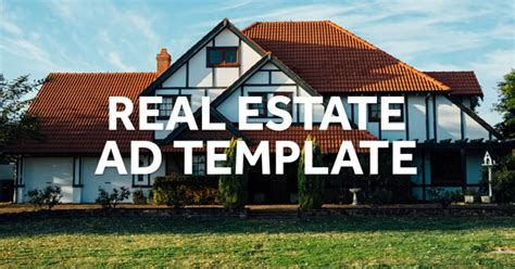real estate video marketing ad template biteable