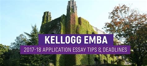 Kellogg Executive Mba Reviews by Kellogg Executive Mba Essay Tips Deadlines The Gmat Club