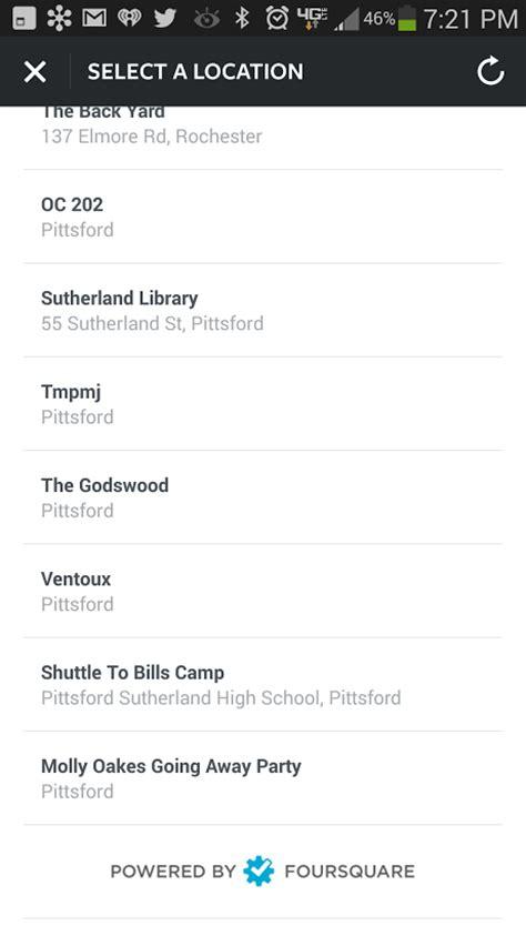 instagram locations instagram experiment dumps foursquare for location tagging