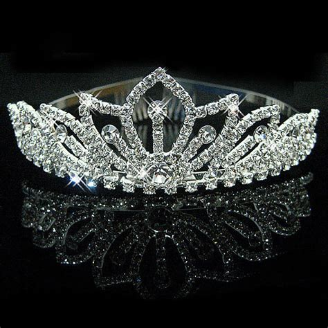 Tiara Princess Crown Mahkota Permata Type I buy wholesale wedding crown from china wedding crown wholesalers aliexpress