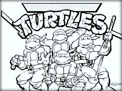 coloring pages for ninja turtles ninja turtles coloring pages for kids color zini