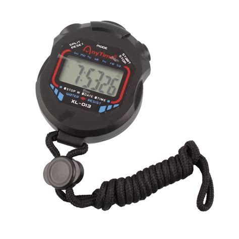 Stopwatch Xl 013 By Bromarket professional handheld digital lcd chronograph sports