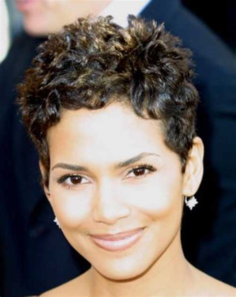 www step cut hairstyle that looks curly hair 20 halle berry pixie haircuts pixie cut 2015