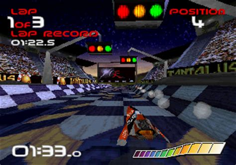 wipeout screenshots for sega saturn mobygames