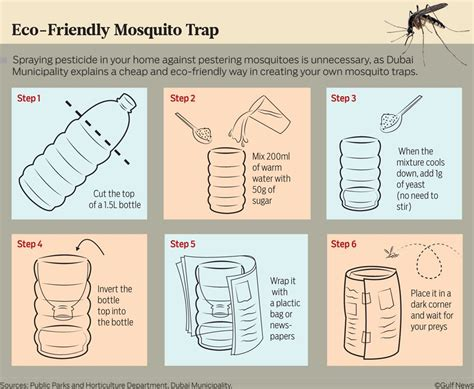 7 Smalls Steps To Being Eco Friendly by Make Your Own Eco Friendly Mosquito Trap In 6 Simple Steps